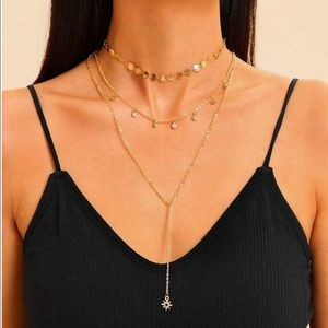 Gold Layered Brandy Melville choker necklace
